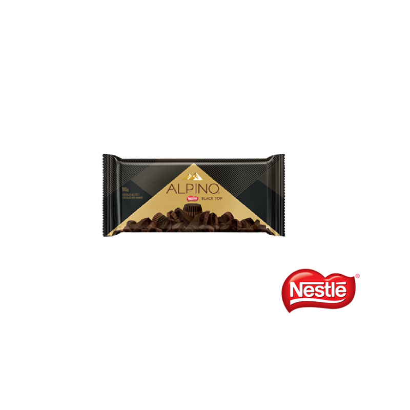 Chocolate Alpino • Black top – 100g • Nestlé