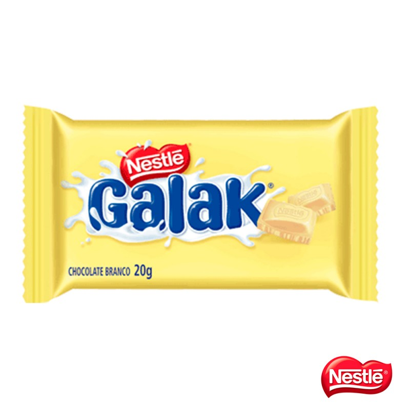 Chocolate • Galak • Branco • 360g Cx. c/18un- Nestlé