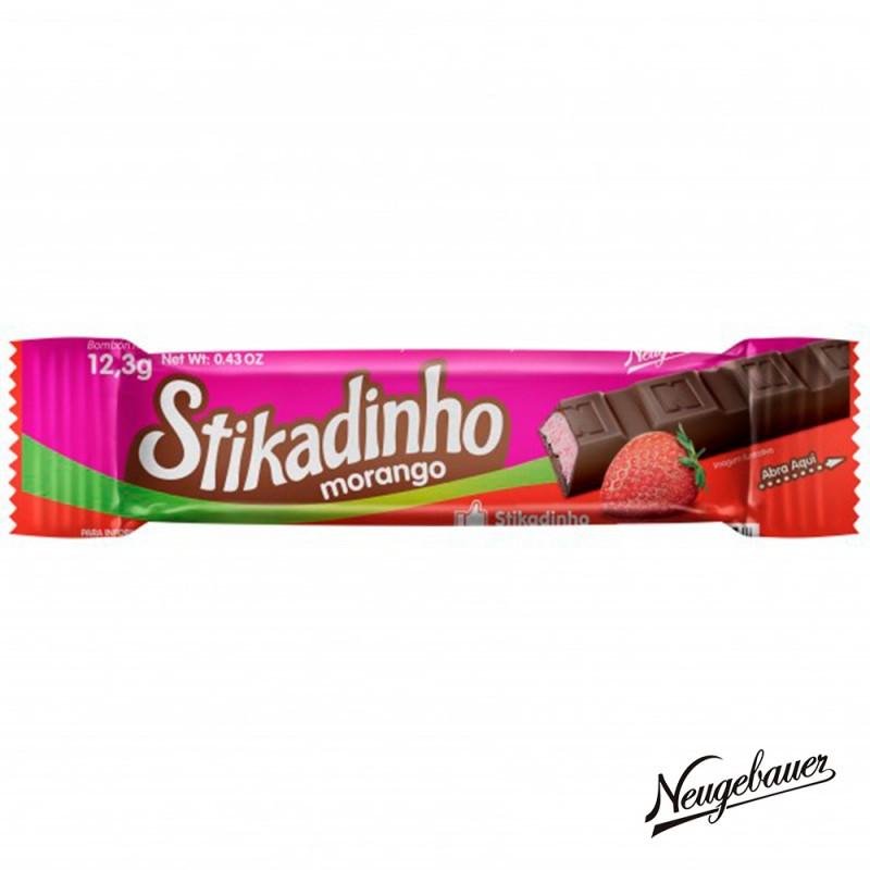 Chocolate • Stikadinho Morango • Caixa 394g • Neugebauer