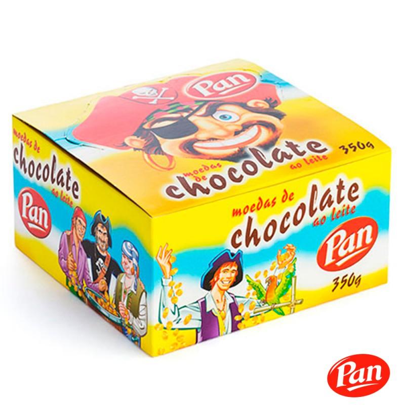 Moedas de Chocolate ao Leite • 350g • Pan