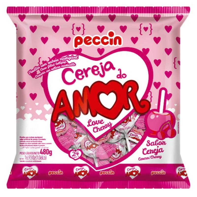 Pirulito • Linha do Amor • 480g • Peccin