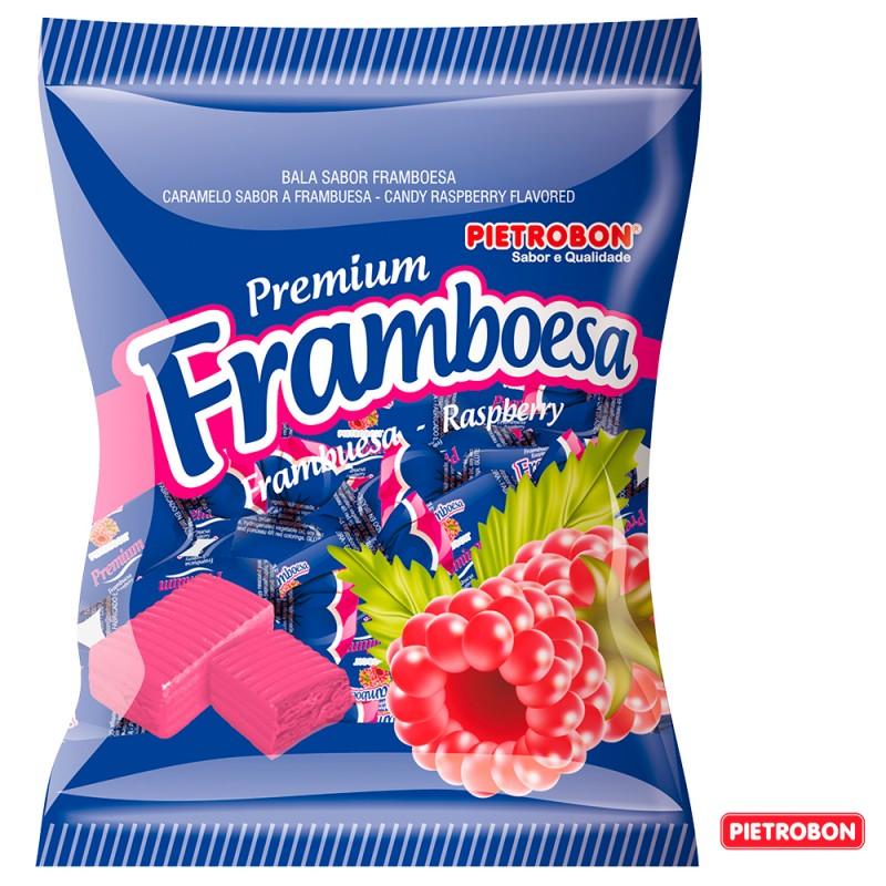 Bala •Premium Framboesa • 600g •Pietrobon