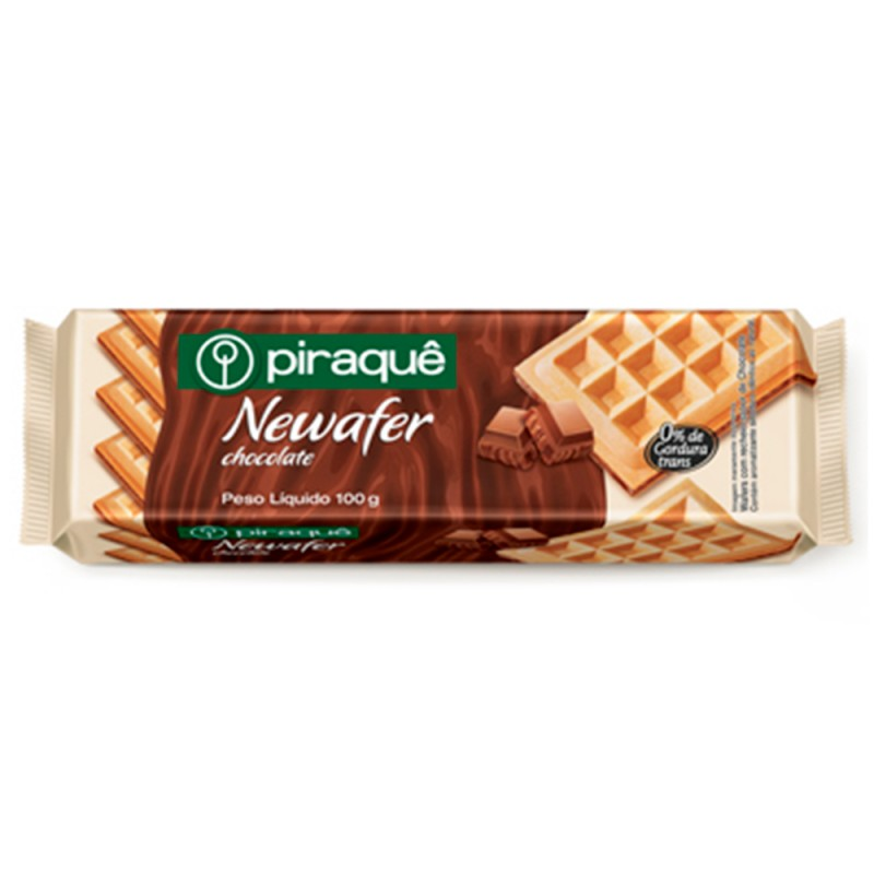 Newafer • Chocolate • 100g • Piraquê