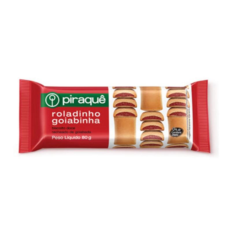 Biscoito • Roladinho Goiabinha • 100g • Piraquê