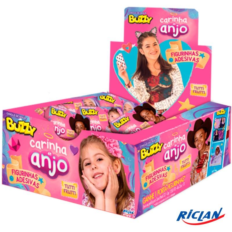 Chicle • Buzzy • Carinha de Anjo • Tutti-Frutti • 400g • Riclan