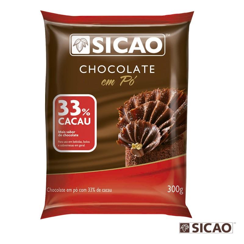 Sicao • Chocolate em Pó • 33% Cacau – 300g
