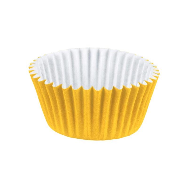 Forminha de Papel Amarelo Nº4 100Un - Regina