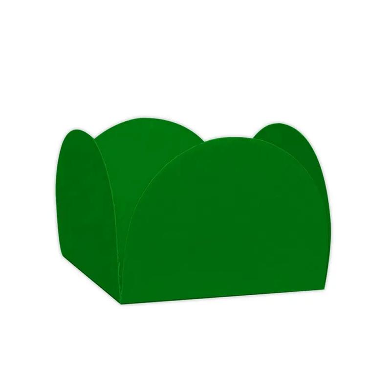 Forminha Quatro Pétalas  50un Verde Bandeira - Palmas