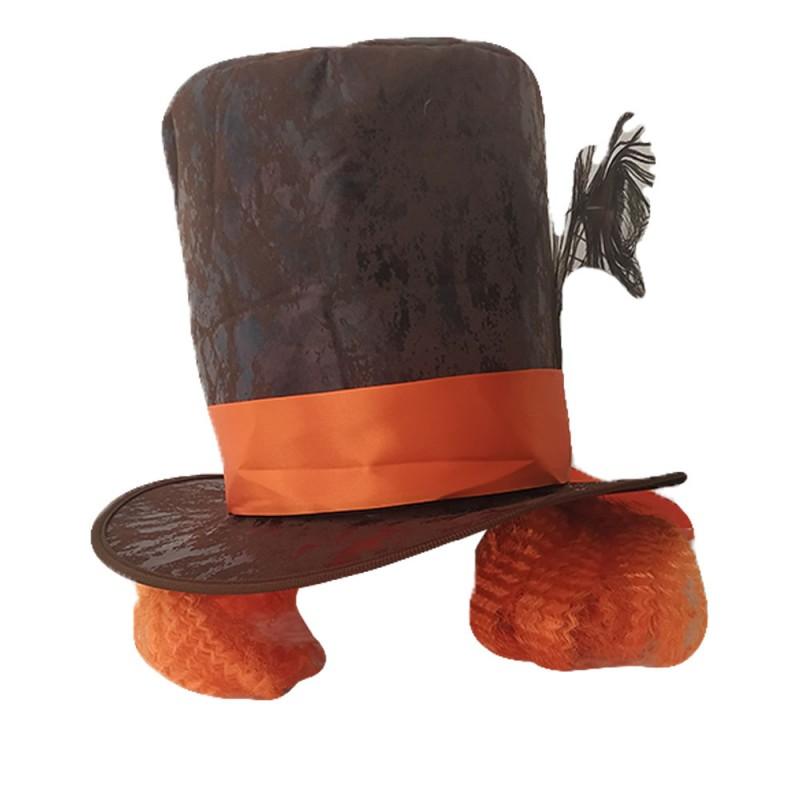 Chapéu Maluco com Cabelo • Halloween