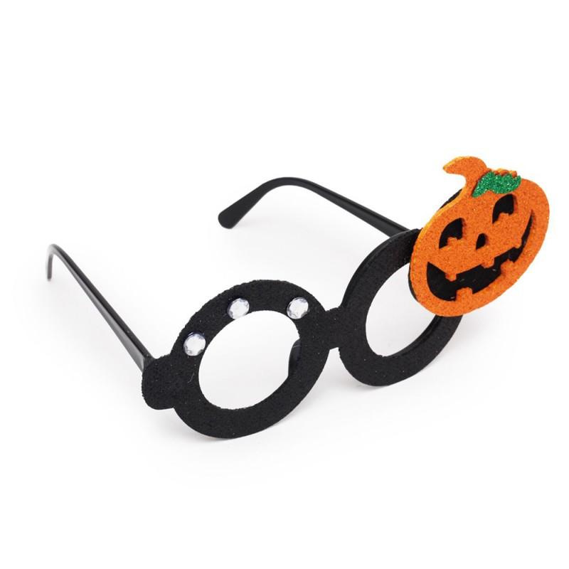 Óculos Abóbora • Preto • 1 Un • Halloween   Cromus