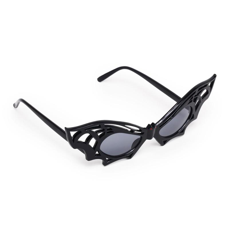 Óculos Morcego • Preto • 1 Un • Halloween   Cromus
