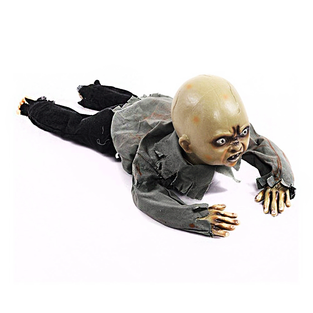 Bebê Rastejante Zumbi - Halloween