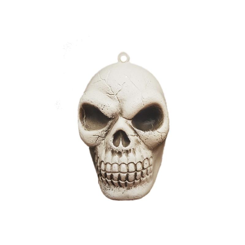 Cranio Plástico • Pendente • 1un • Halloween • Importfest