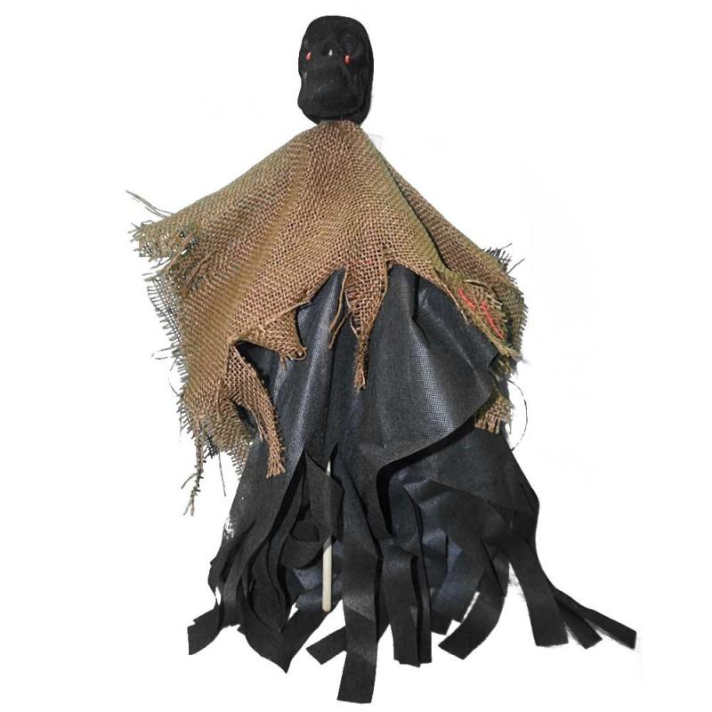 Espantalho Caveira Palito • Halloween