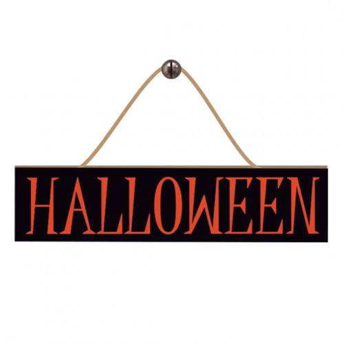 Plaquinha Decorativa • Halloween • MDF • 1 Un • Grintoy