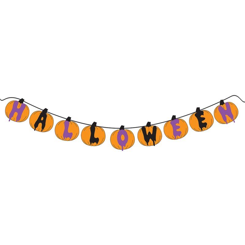 Varal Decorativo • Halloween • EVA • 1 Un • Grintoy