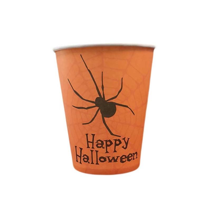 Copo Descartável • Happy Halloween • Silver Plastic
