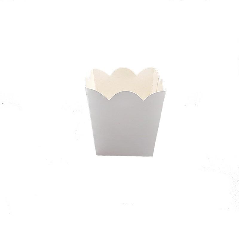Mini Cachepot  • Branco • Liso • 10 un