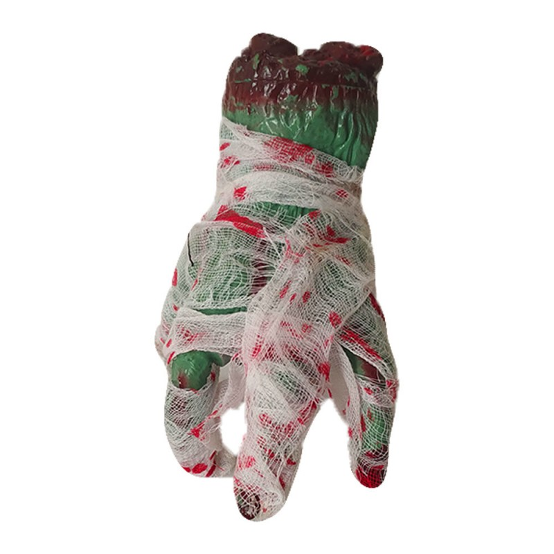 Mão Rastejante Enfaixada•Halloween