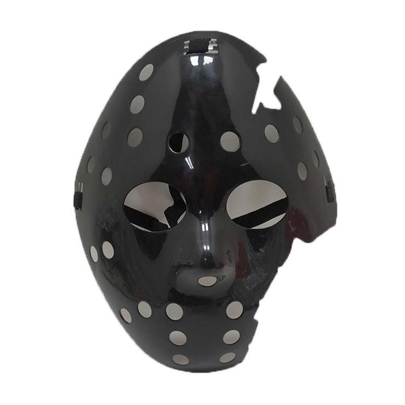 Máscara Jason Quebrada • Preta • Halloween