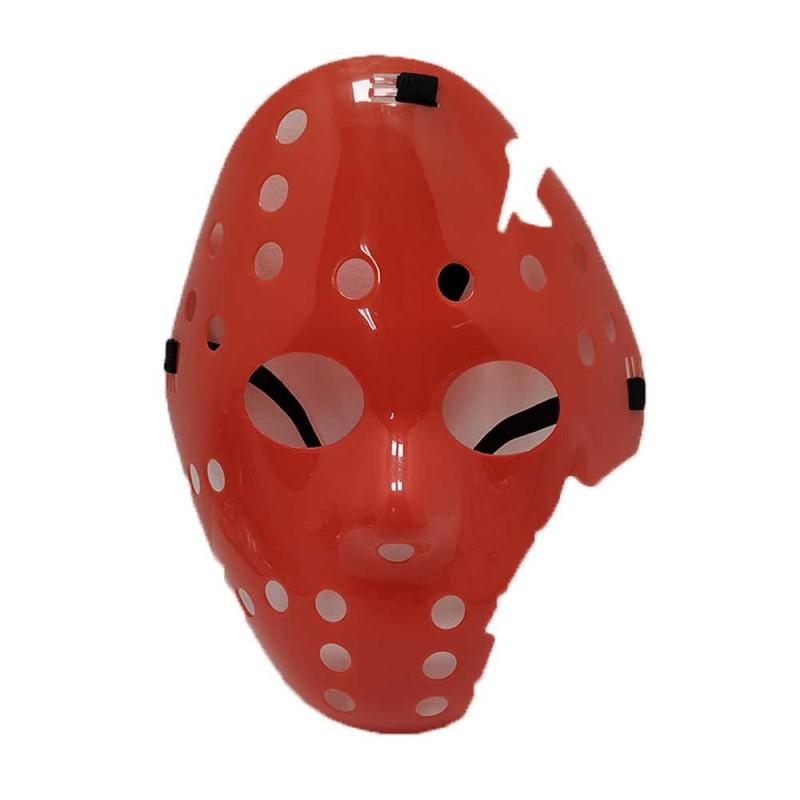 Máscara Jason Quebrada • Vermelha • Halloween