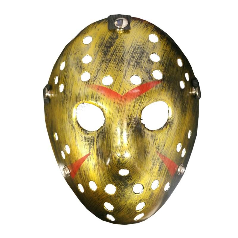 Máscara Jason Dourada • Halloween
