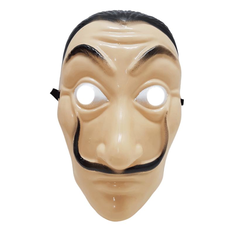 Máscara La Casa de Papel • Plástico • 1Un • Halloween