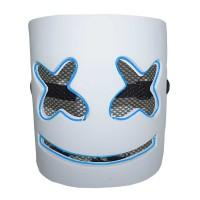 Máscara • Dj Marshmello • Led Azul • Halloween