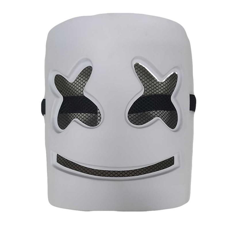 Máscara • Dj Marshmello • Branca • Halloween