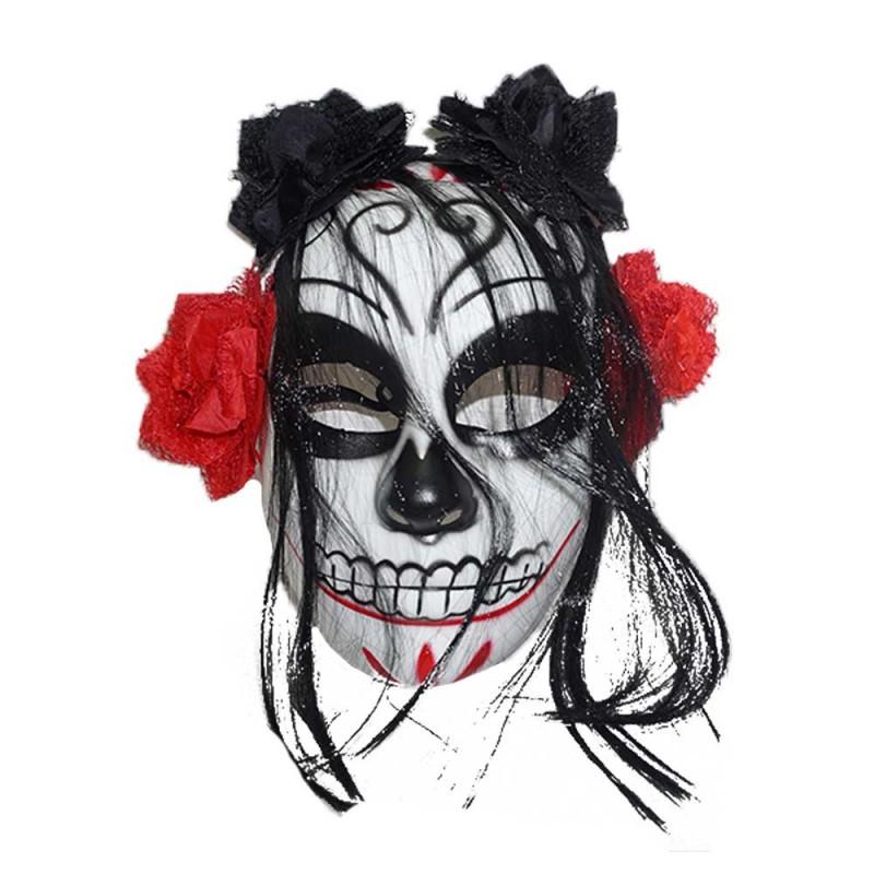 Máscara Mexicana • Vermelha •  Halloween