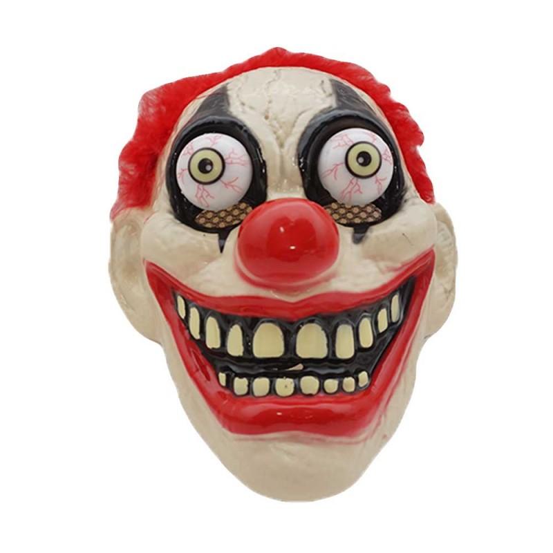 Máscara Palhaço Ruivo • Led • Halloween