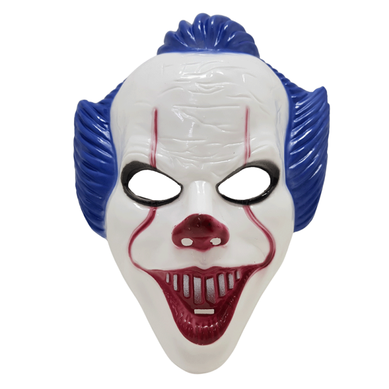 Máscara Palhaço It • Azul • 1Un • Halloween