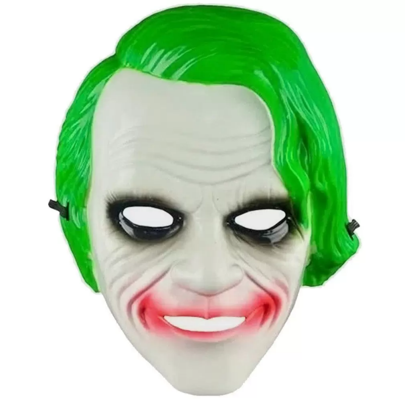 Máscara Coringa Heath Ledger 1Un • Halloween