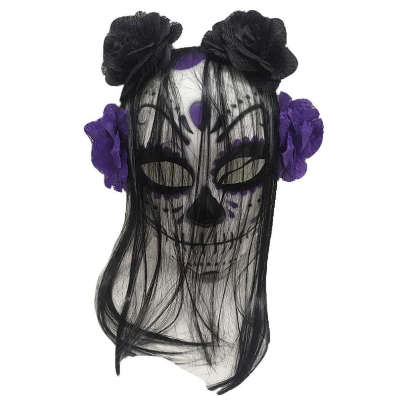Máscara Mexicana • Roxa •  Halloween