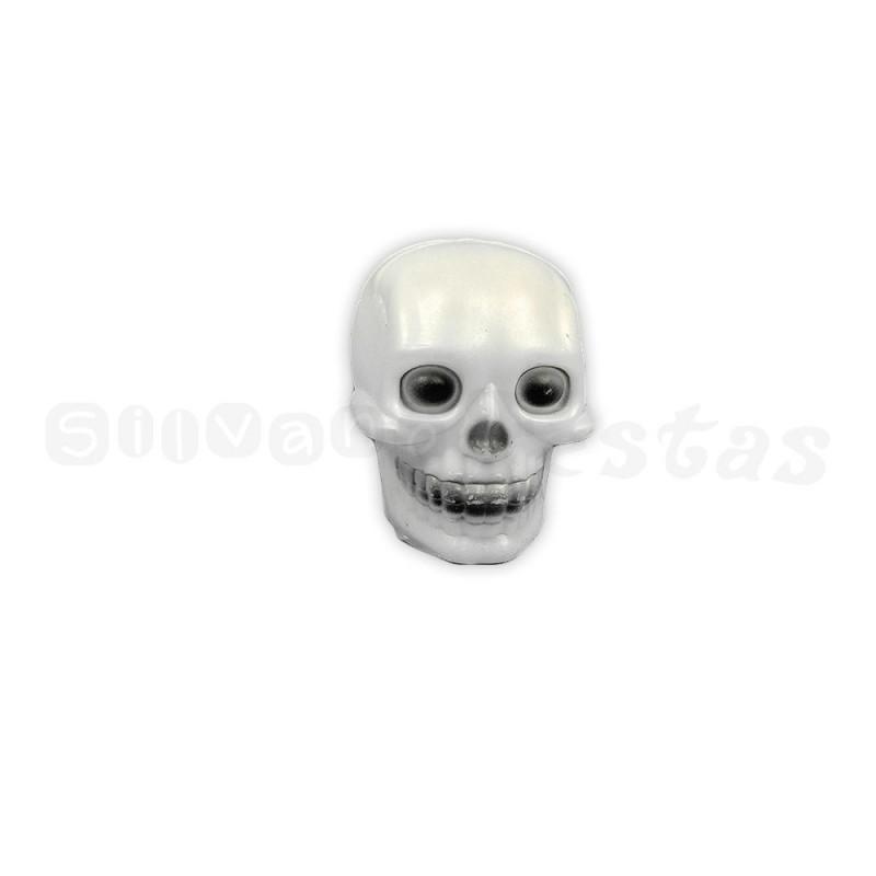 Cranio Plástico C/ Led • Pequeno • Halloween