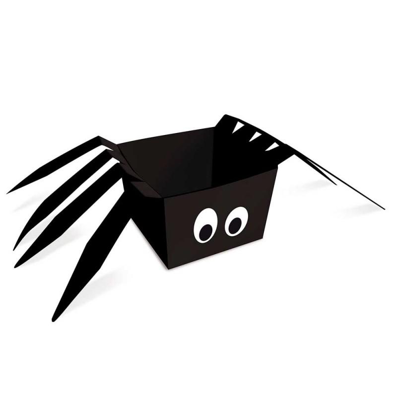 Cachepot Aranha • 08un• Halloween • Cromus