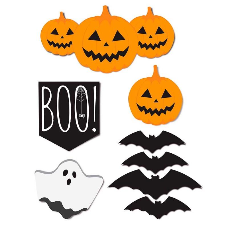 Cartaz Decorativo • 8un.• Halloween • Cromus