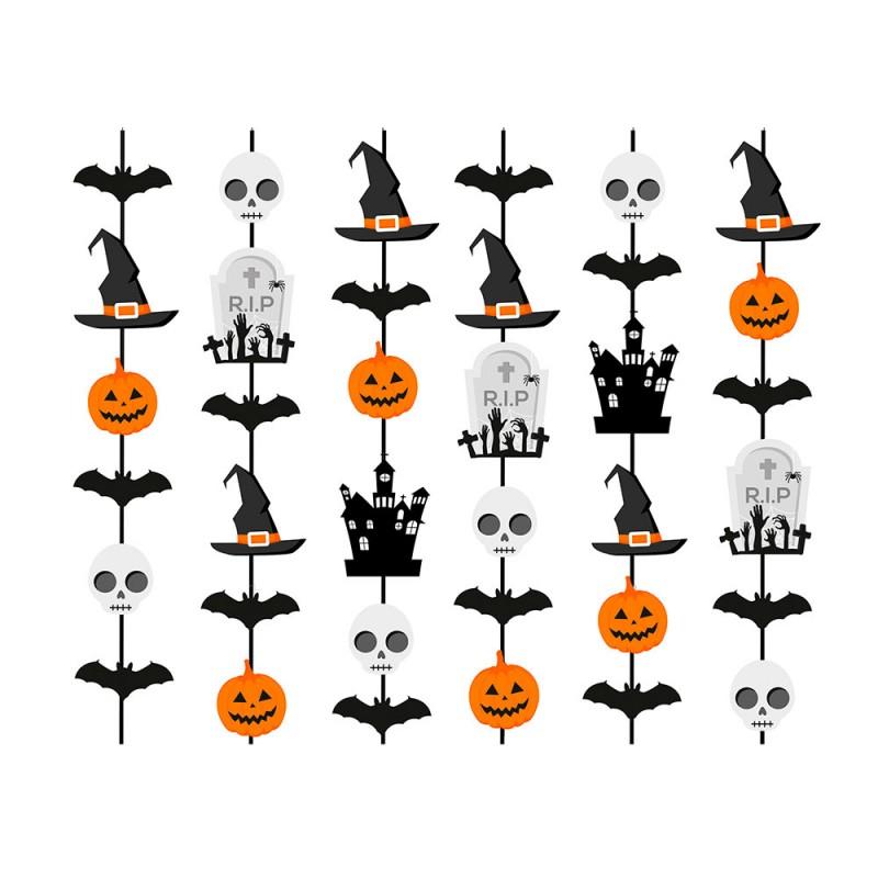 Cortina Decorativa • Halloween • Cromus