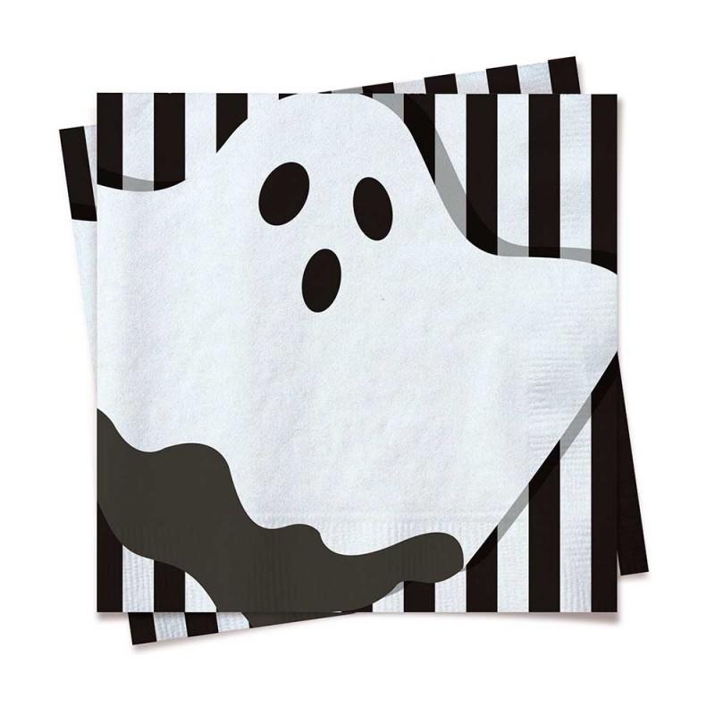 Guardanapo• 20un • Fantasma • Halloween • Cromus