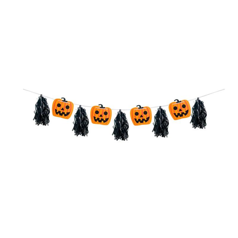 Faixa Decorativa • Abóboras • Halloween • Cromus