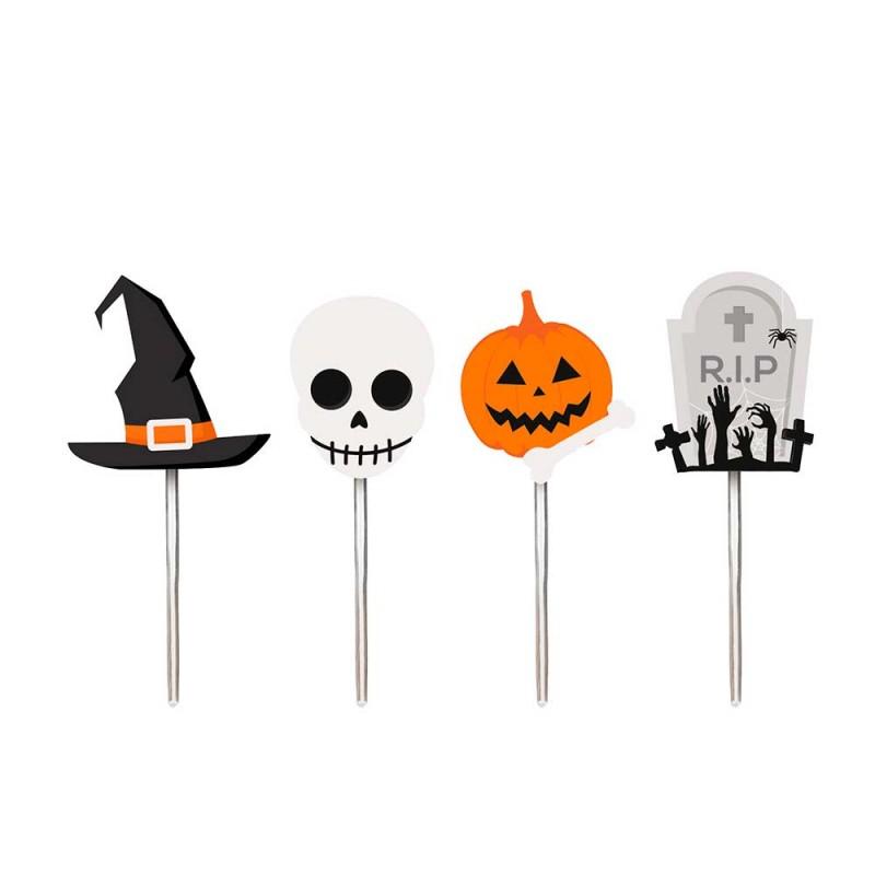 Pick Decorativo • 12un.• Halloween • Cromus