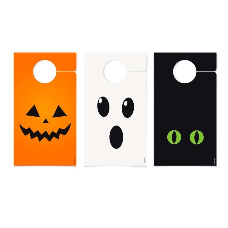 Tag Decorativa de Maçaneta • 08un.• Halloween • Cromus