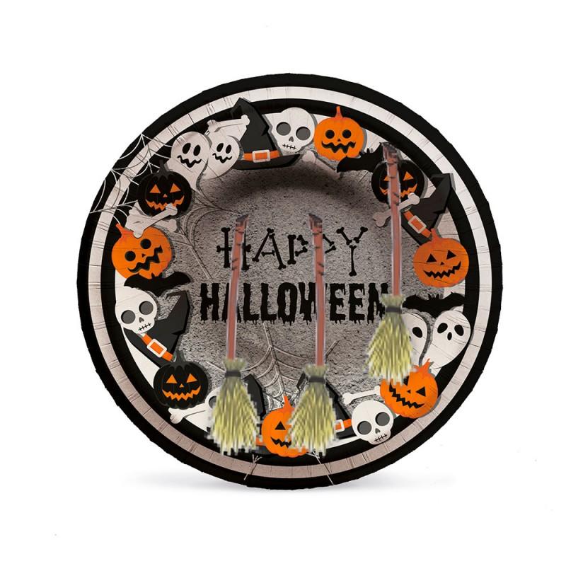 Prato Fundo • 08un. • Halloween • Cromus
