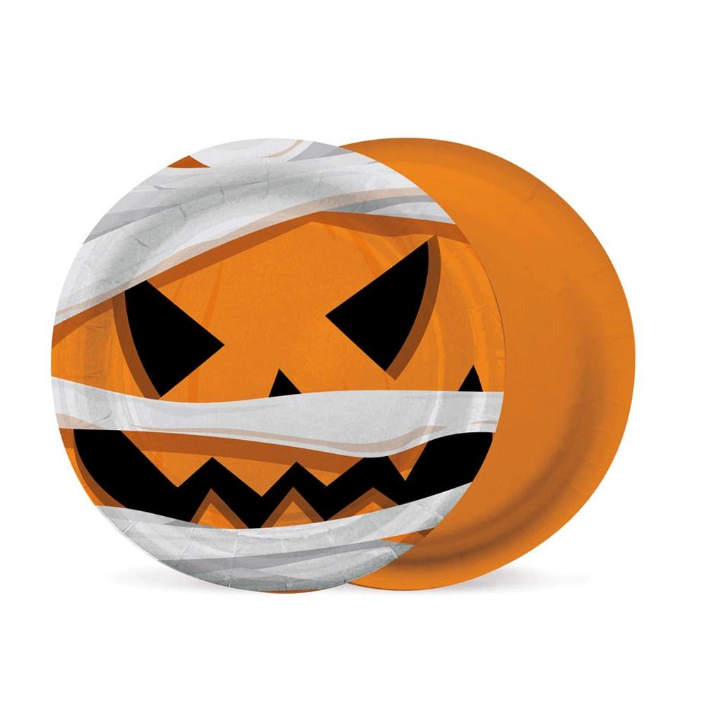 Prato de Papel 8Un - Halloween - Cromus
