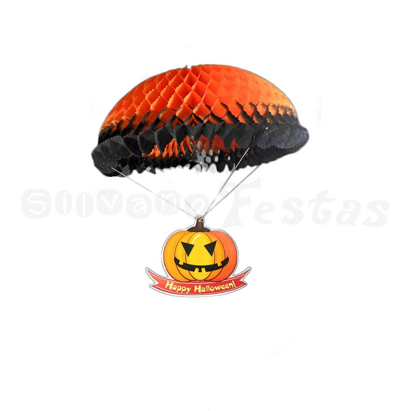Abóbora Paraquedista • Halloween