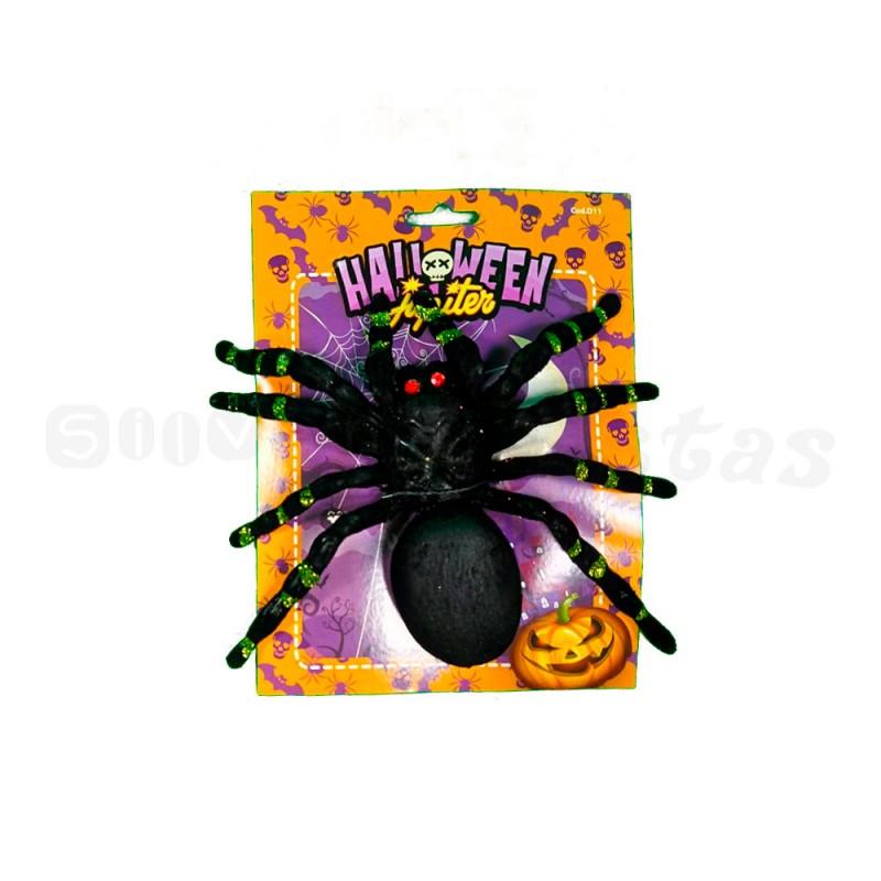 Aranha Grande • Aveludada  • 01un • 3 Cores  • Halloween