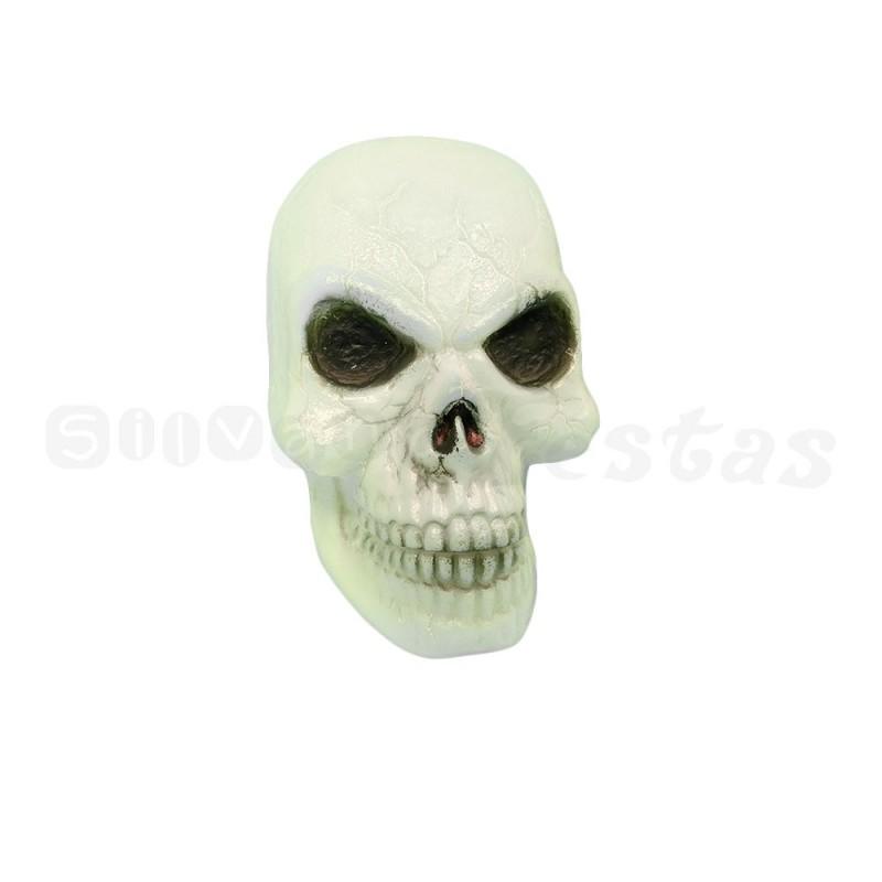 Cranio Plástico C/ Led • Halloween