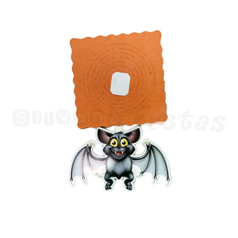 Guirlanda de Morcego • Papel • Halloween
