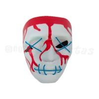 Máscara Sangrenta com LED • Azul • Halloween
