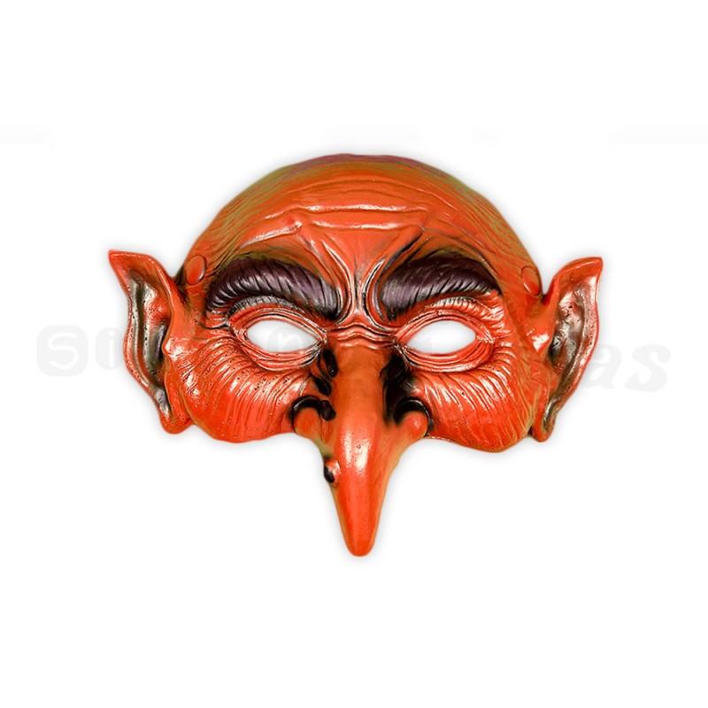 Máscara • Goblin Vermelho • Halloween